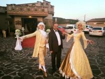 """Шоу балет """"Эксклюзив"""" на свадьбе в Румынии."""