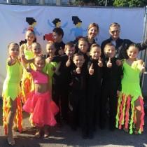 Детский марафон 2017 и танцевальный клуб Эксклюзив